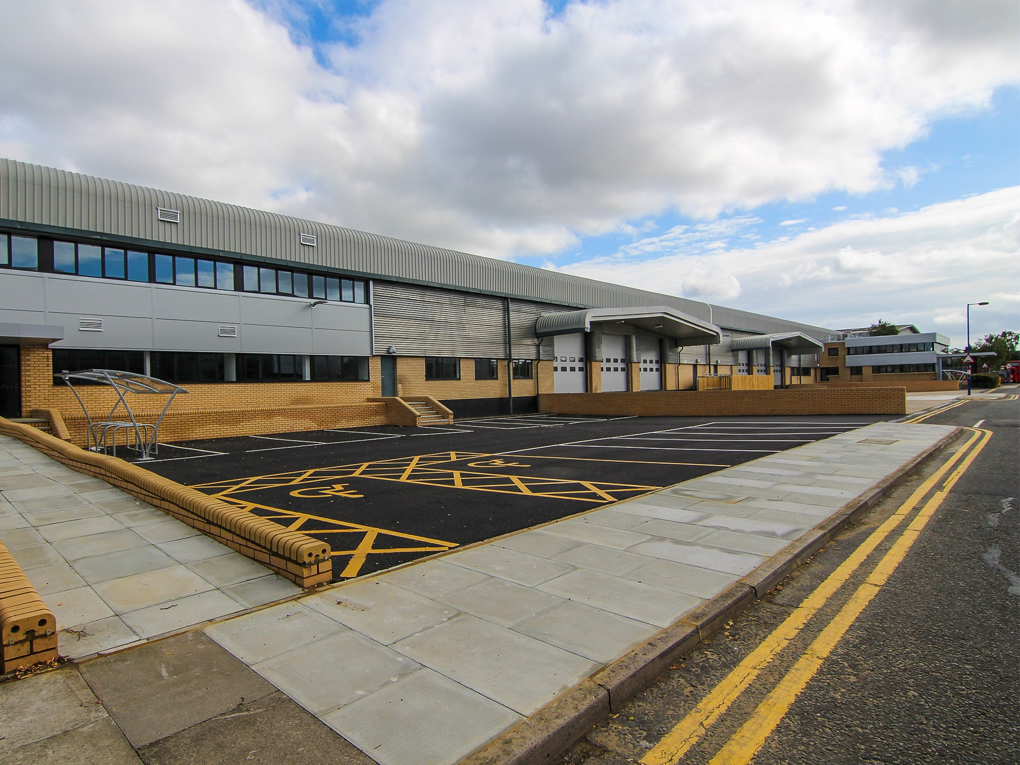 industrial units refurbishment