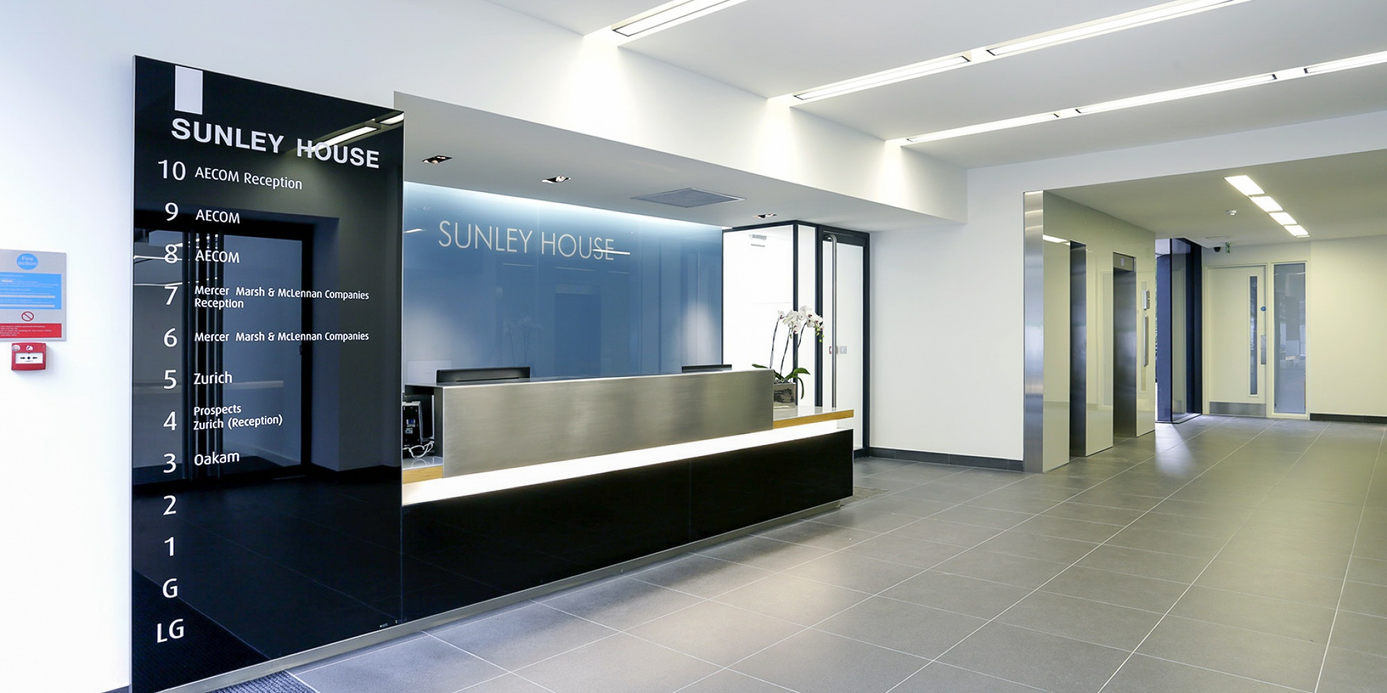 sunley house reception