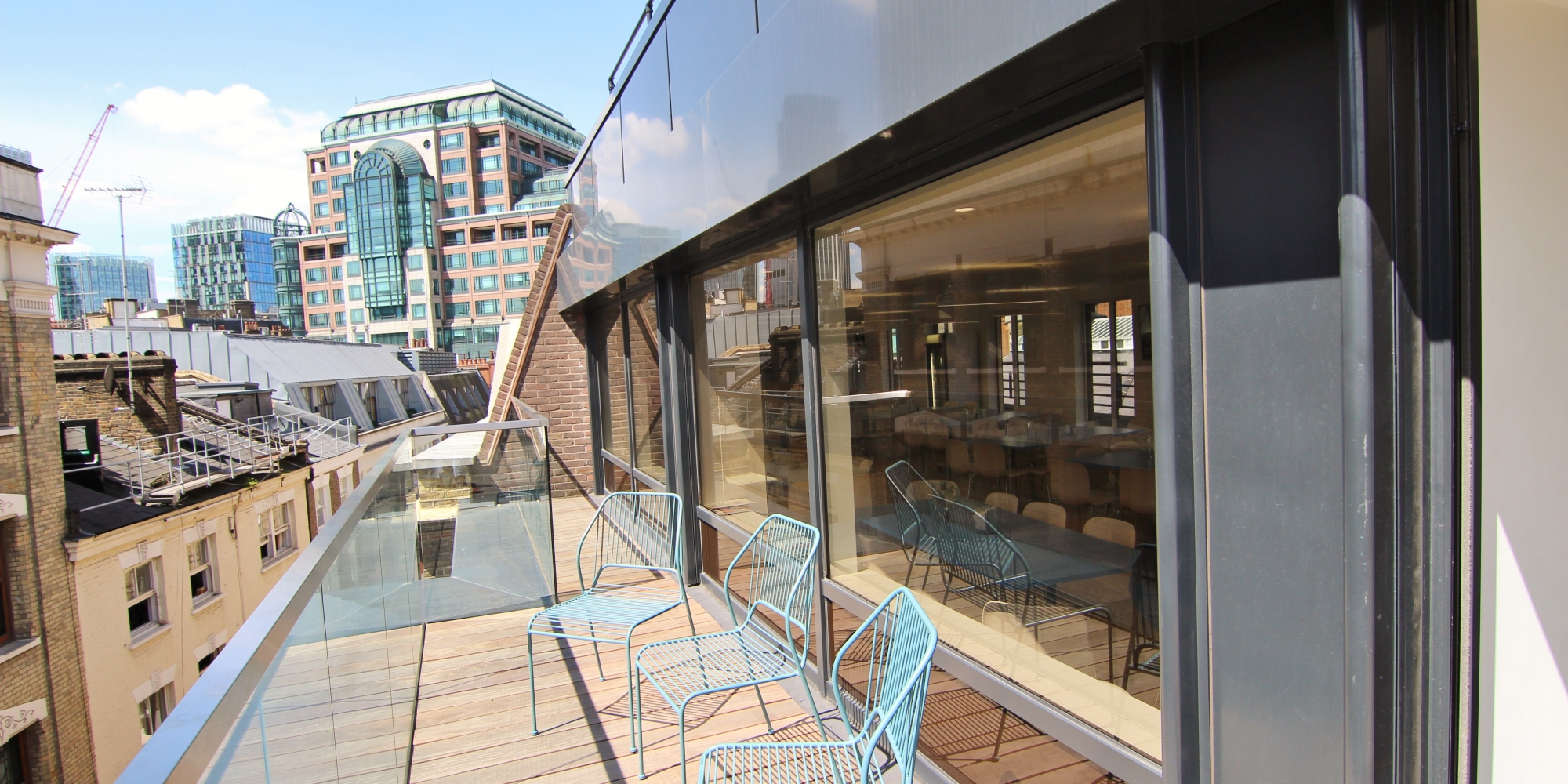 london balcony with a view
